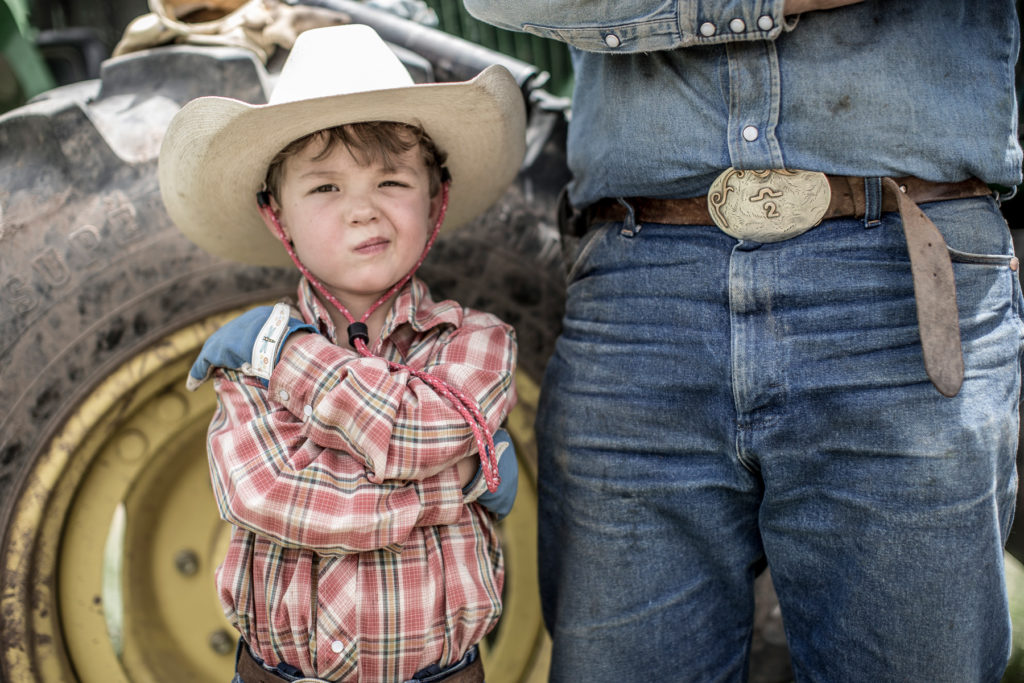 young farmer of multiple generations