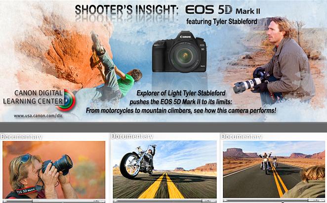 Video Campaign For Canon