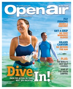 Open Air Magazine April 20, 2009 Cover