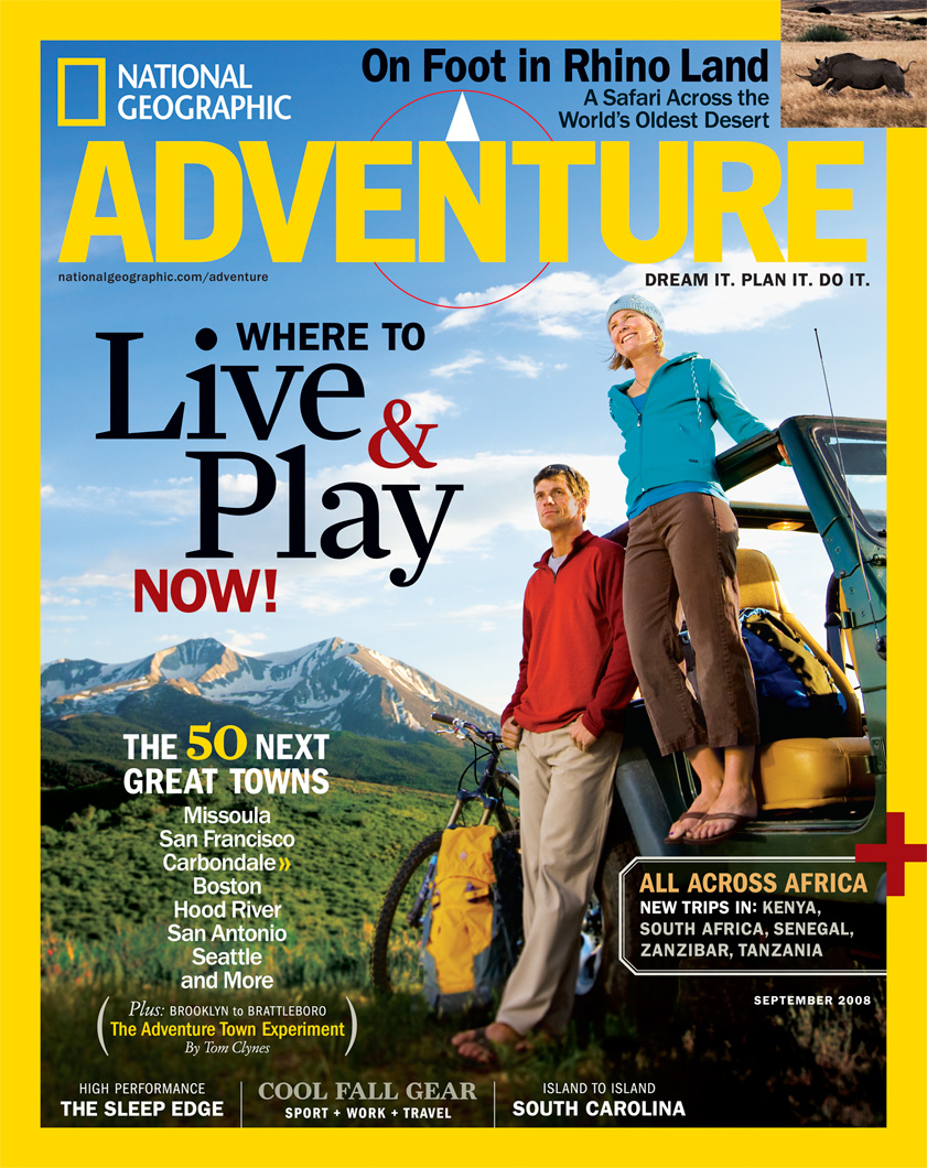 National Geographic Adventure Cover