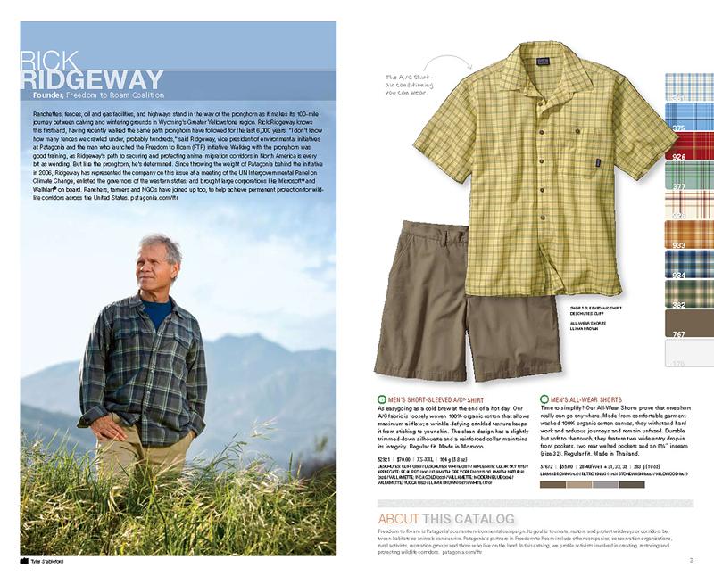 Patagonia Summer Catalog