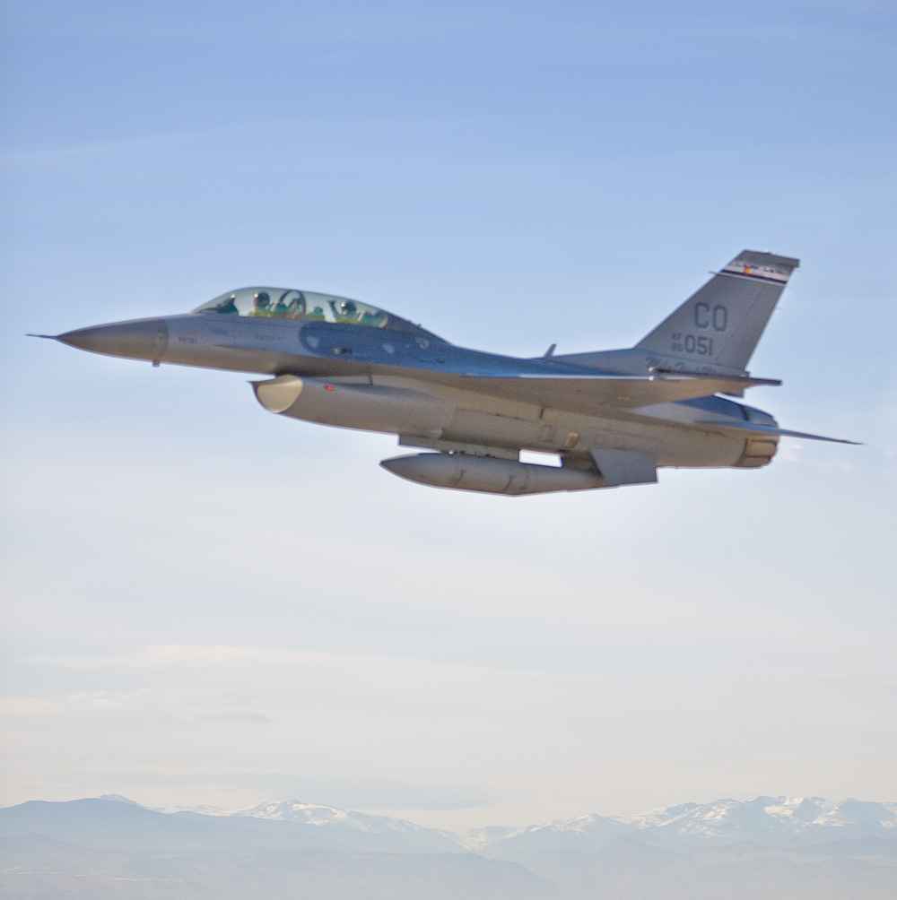Shooting In An F-16 In Aurora, Colorado
