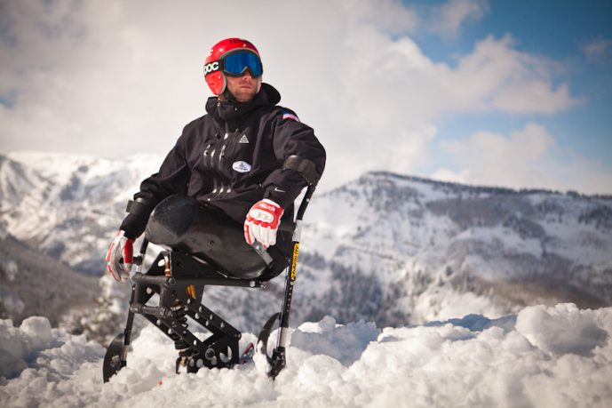 Paralympic Skier BTS