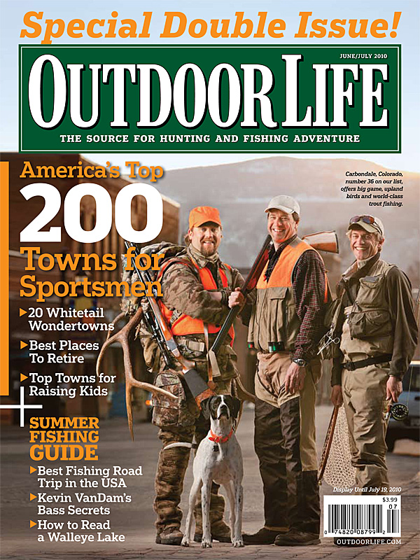 Outdoor Life Cover Shot In Carbondale