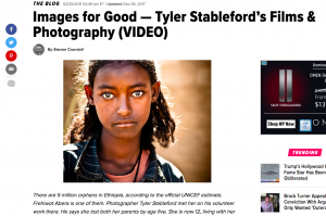 Tyler's Annenberg talk was featured in Huffington Post