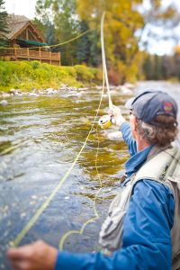 Fly Fishing Images in Woody Creek, CO.