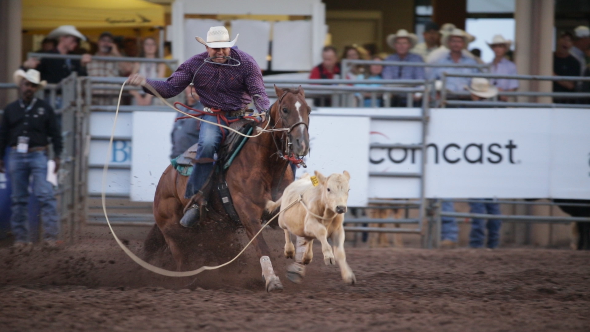 Cinch Jeans rodeo spot captured with Canon 1DX Mark II