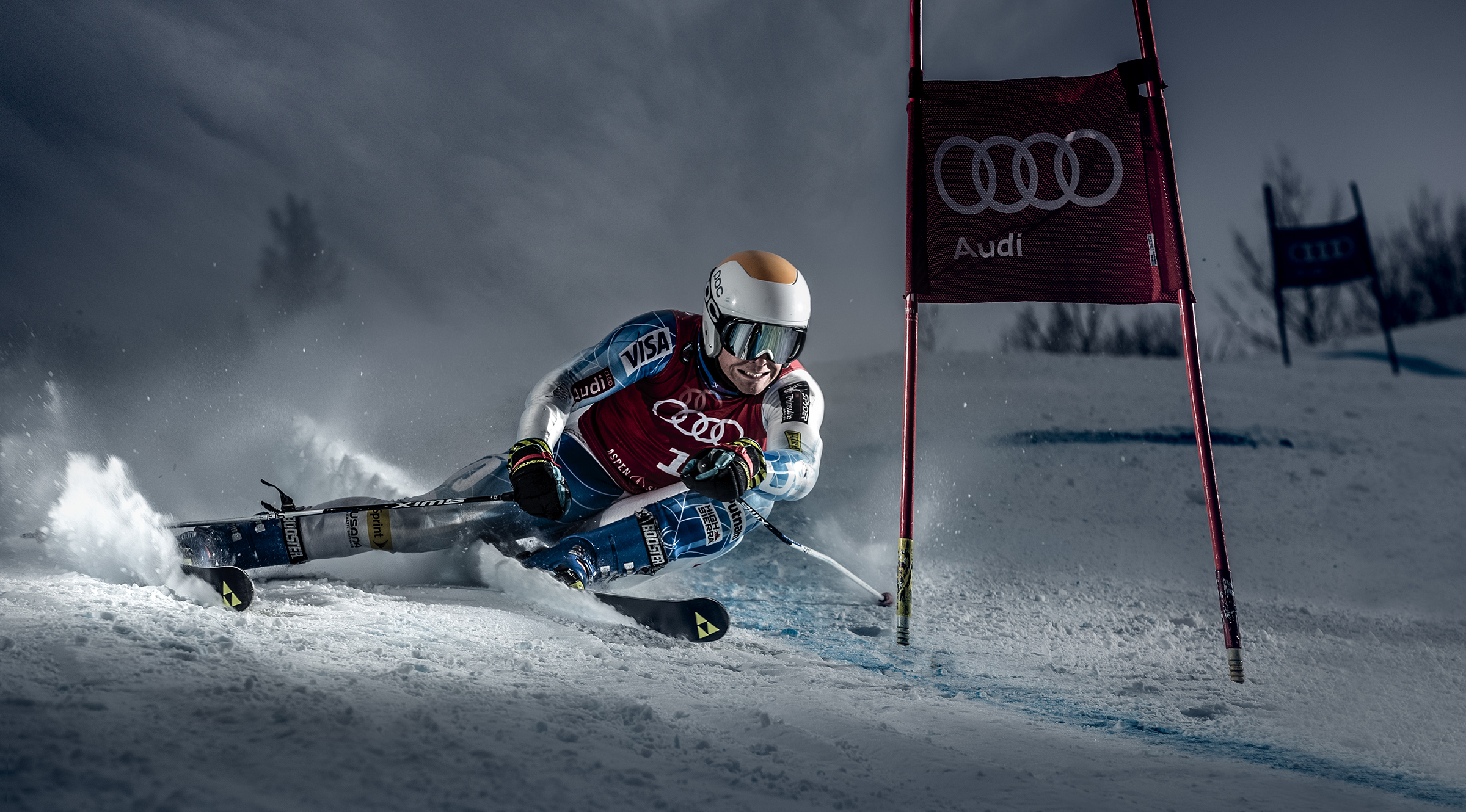 Photographing Ski Racers