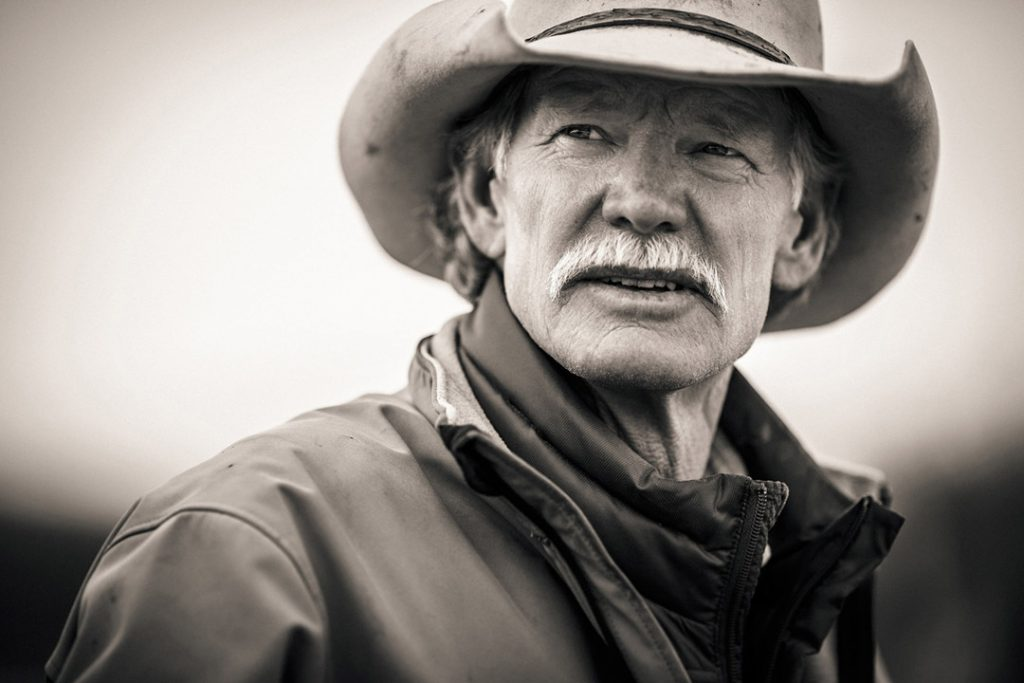 Farmer And Rancher Portrait
