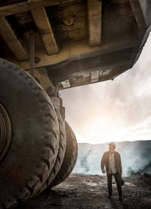 Colorado Coal Mine Photo Shoot Features One of the World's Biggest Dump Trucks. Top Photographer, Tyler Stableford, Shot these Images Near Somerset, CO.