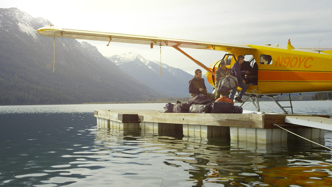 Destination Fly Fishing Doesn't Get Better than Dockside Delivery. Professional Fishermen and Women Prepare to Experience the Potential of a Remote Lake in this Image.