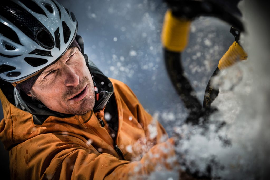 Adventure Director/Photographer Tyler Stableford Premiered his Award-Winning Film 'Shattered' Using Canon 1DX film with Athlete Steve House.