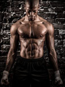 Top Photographer, Tyler Stableford, Shot this Pic of an Athlete after an Intense Workout at a Cross-fit Gym near Aspen, CO.