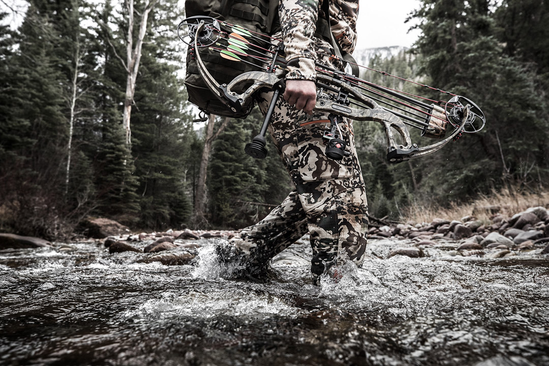 High country hunting is challenging to even life-long hunting enthusiasts. Gear and clothing must be up to the challenge as well as weaponry and expertise.