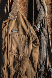 Detail of Patagonia Workwear Jacket.