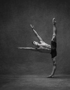 Black and White Ballet Dancer