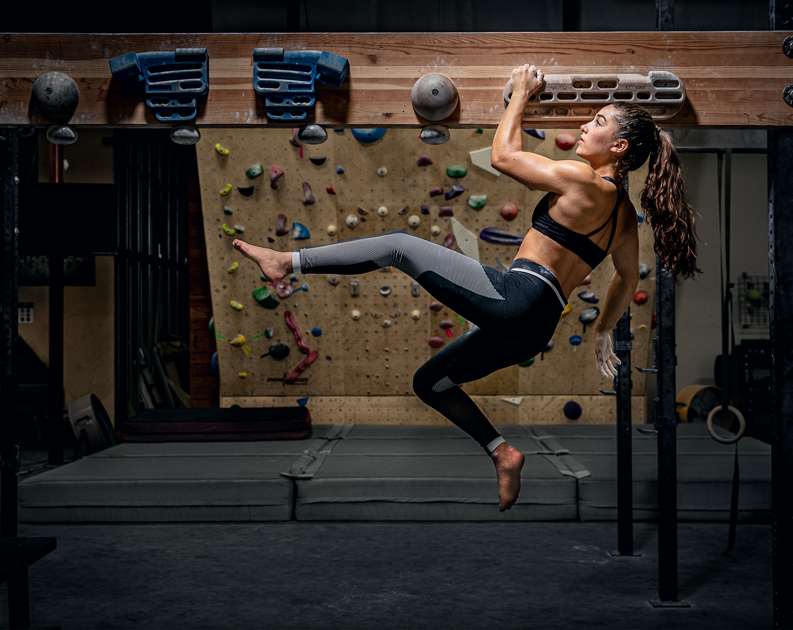 Oympic Climber Brooke Raboutou photographed for Southwest Airlines