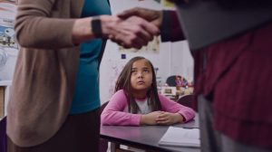 A still from the Emmy Award-nominated CASA campaign directed by Tyler Stableford